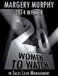 20 Women to Watch - Margery Murphy - Sales Lead Management