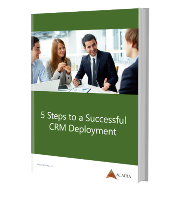 5 Steps to a Successful CRM Deployment Ebook