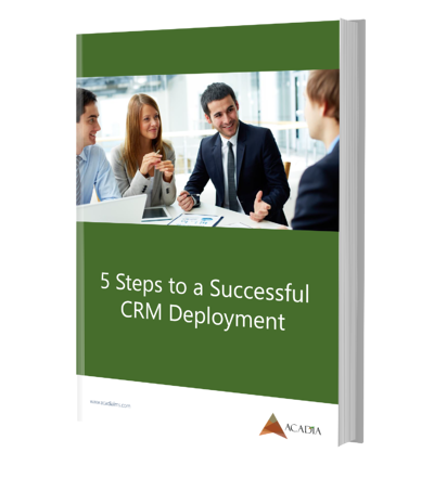 5 Steps to Successful CRM Deployment Ebook