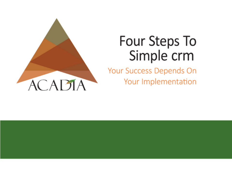 Image for 4_Steps_To_CRM Ebook