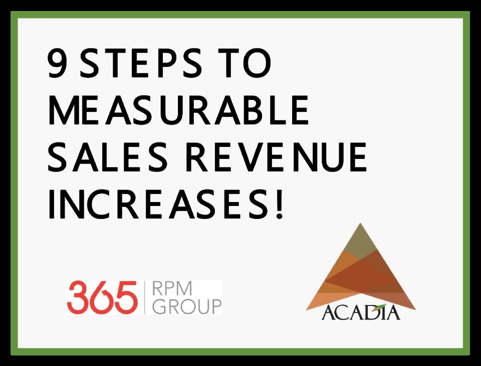 Image for 9_Steps_To_Revenue Ebook