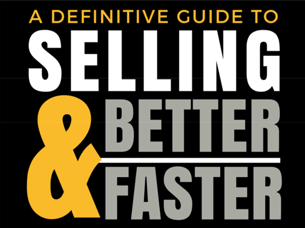 Image for Selling_Better_Faster Ebook