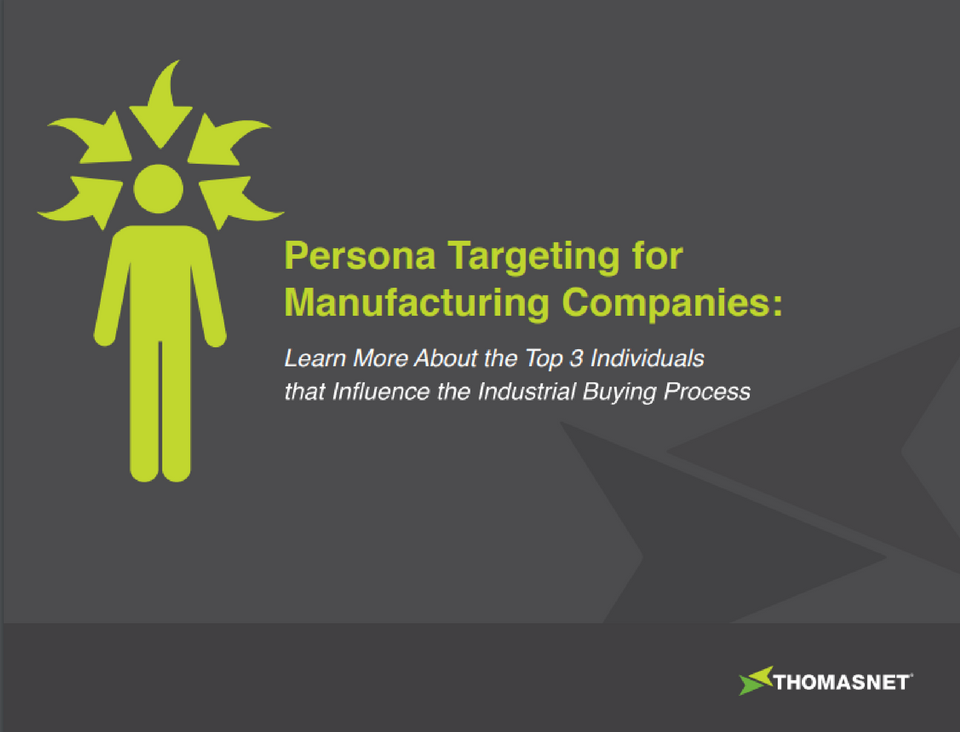 image for Persona Targeting for Manufacturing Companies Ebook