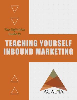 Teaching Yourself Inbound Marketing Ebook