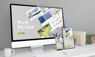 professionally built and designed website