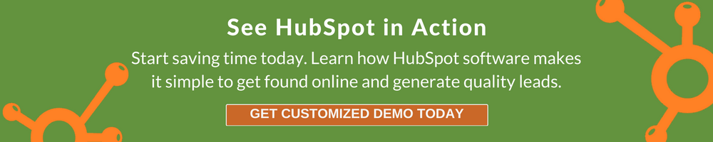 See HubSpot in Action - Get Customized Demo Today