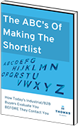 The ABC's of Making the Shortlist ebook mockup