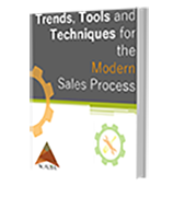 Trends, Tool, and Techniques for the Modern Sales Process ebook mockup